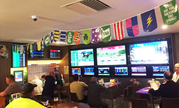 Sports bar: